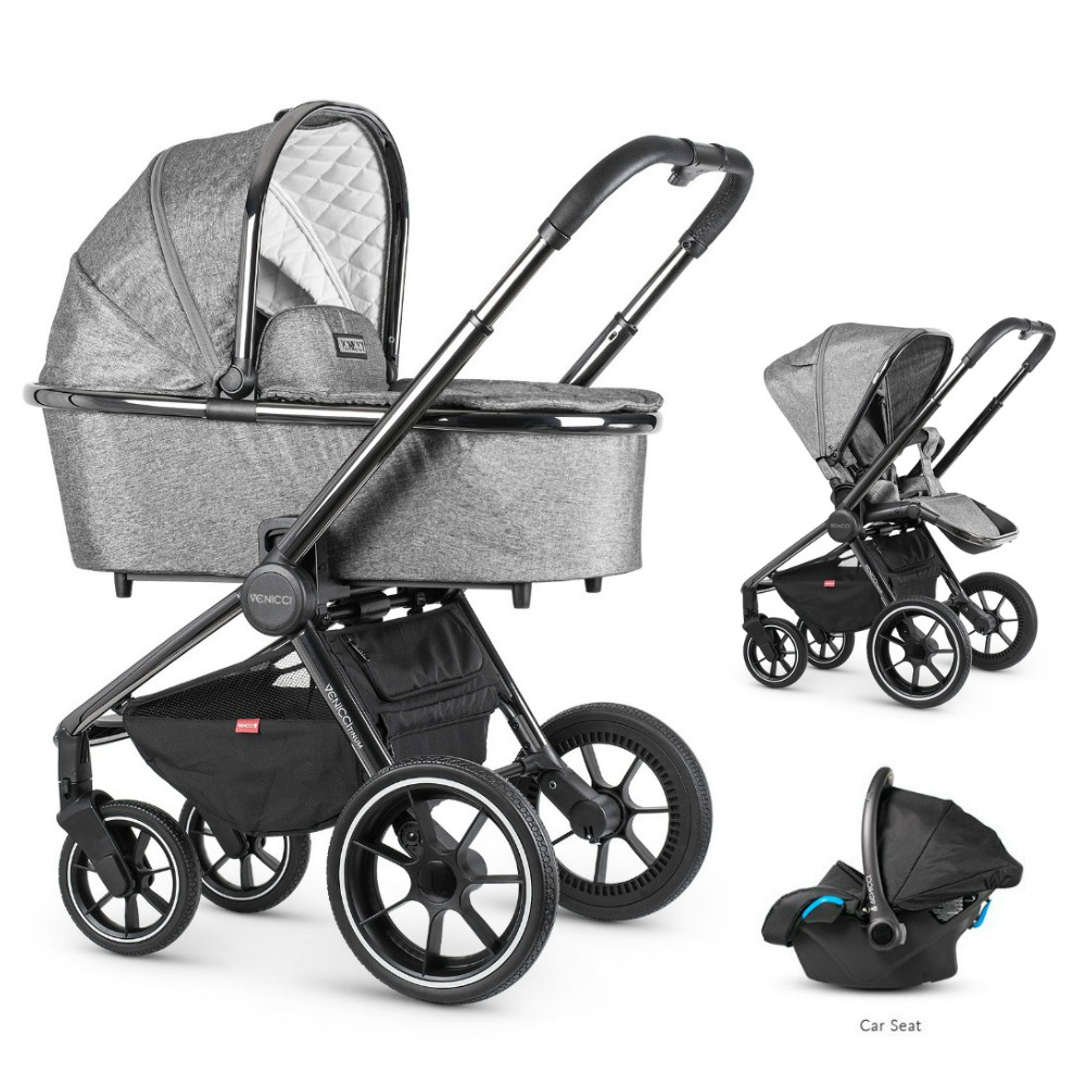 Venicci_Tinum_Pram_Grey_Bundle_Car_seat