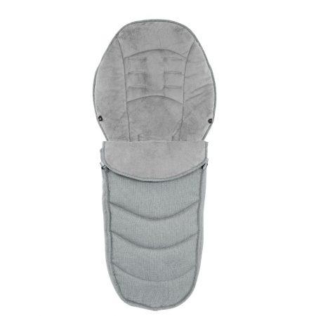 Egg Platinum Grey Luxury footmuff