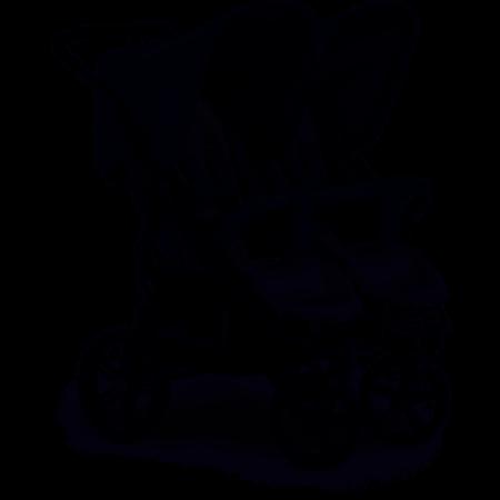 Hauck Roadster Duo SLX Twin Pushchair Pram Grey Silver