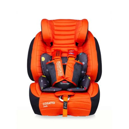 Cosatto Judo Car Seat - Group 1/2/3 - Spaceman Red
