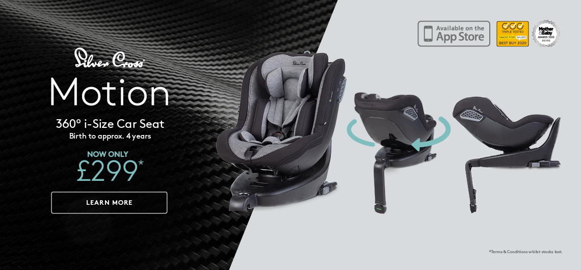 Silver Cross Motion Car Seat offer