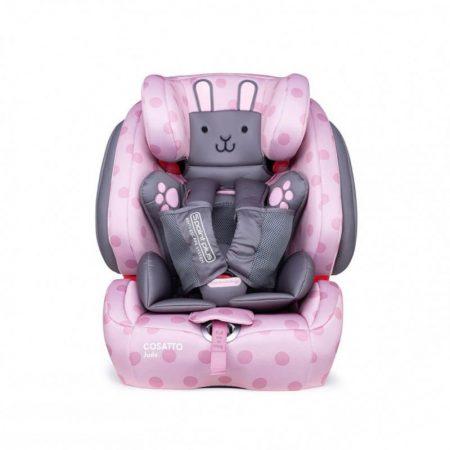 Cosatto Judo Car Seat - Group 1/2/3 - Bunny Buddy Pink