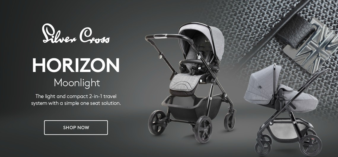New Silver Cross Horizon pram