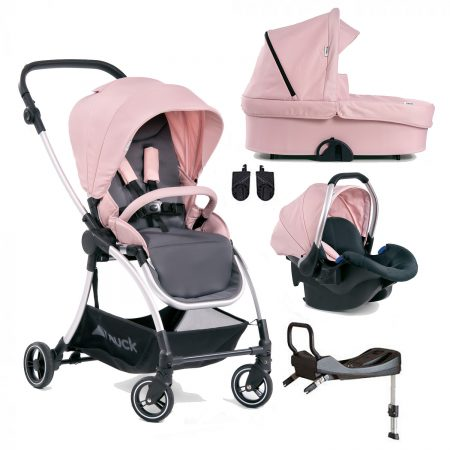 Hauck Eagle 4S Travel System with car seat and base - Pink