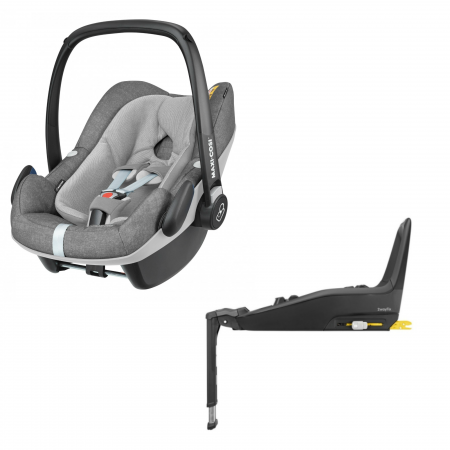 Maxi Cosi Pebble Plus i-Size & 2wayfix Car Seat Isofix Base