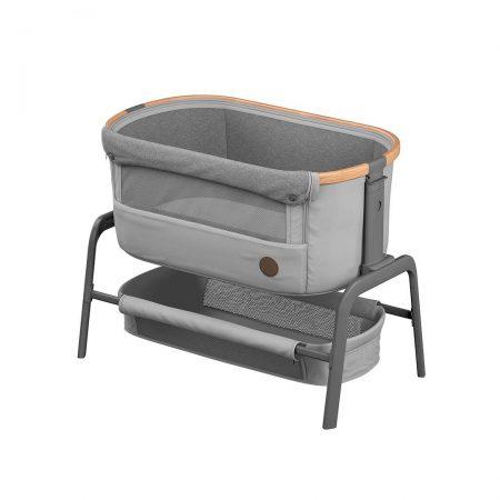 Maxi Cosi Iora Bedside Crib - Essential Grey