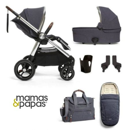 Mamas & Papas Ocarro Navy 6 piece bundle Ex Display