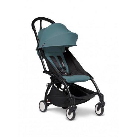 BABYZEN YOYO2 Stroller 6+ Aqua Black Chassis