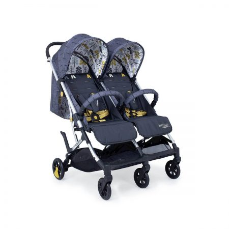 Cosatto Woosh Double Twin Stroller Pushchair - Fika Forest