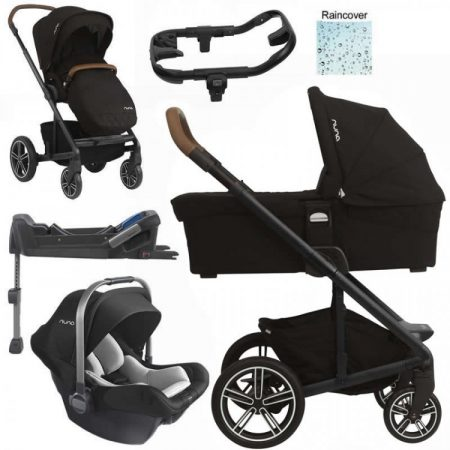 Nuna Mixx Pipa Lite 3in1 Travel System Package - Caviar + £120 Bag