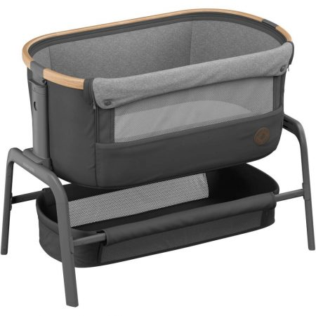 Maxi Cosi Iora Bedside Crib - Essential Graphite