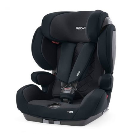 Recaro Tian Performance Black - Group 1/2/3 - 9 Months to 12 Years