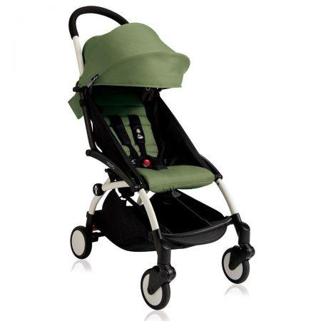 BABYZEN YOYO2 Stroller 6+ Peppermint / White Chassis