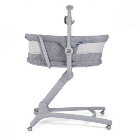 Chicco 4 in 1 Baby Hug Air Crib / Highchair - Titanium