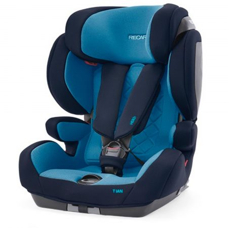Recaro Tian Xenon Blue - Group 1/2/3 - 9 Months to 12 Years