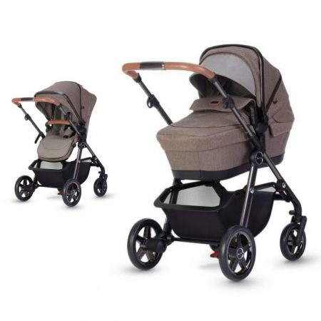 Silver Cross Pacific Autograph Pushchair, Carrycot - Bronze
