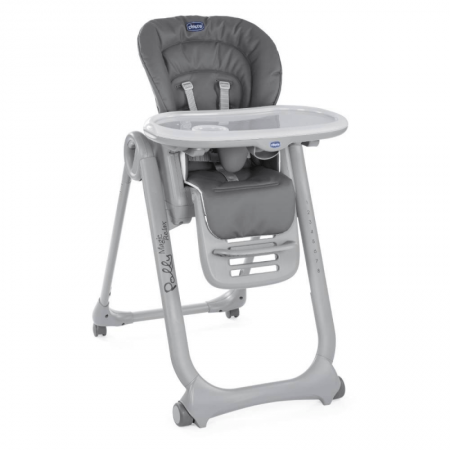 Chicco Polly Magic Relax Highchair in Graphite Grey