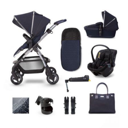 NEW Silver Cross Wayfarer 2020 Dream iSize Isofix Bundle - Sapphire