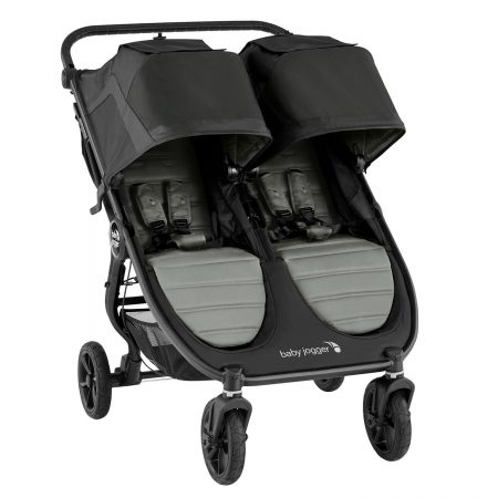 Baby Jogger City Mini GT2 Double Twin Slate All Terrain Pushchair for 2