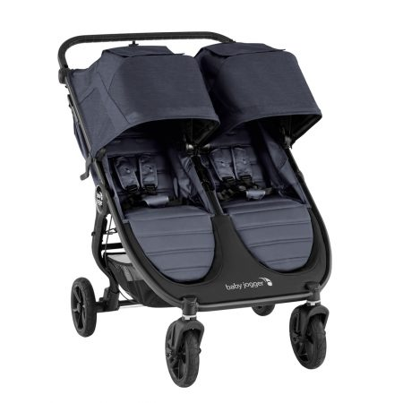 Baby Jogger City Mini GT2 Double Twin Carbon All Terrain Pushchair for 2