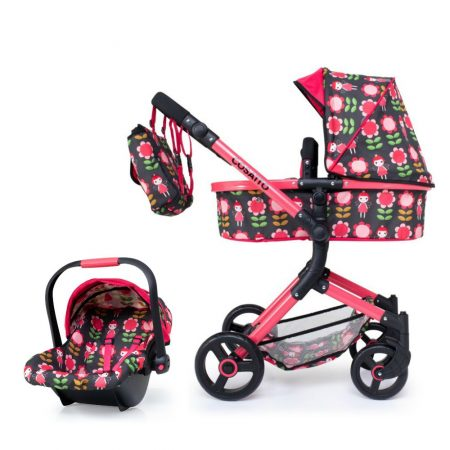 Cosatto Wonder Dolls Pram & Car Seat System Fairy Garden
