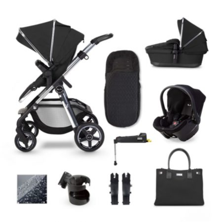 NEW Silver Cross Pioneer 2020 Travel System Isofix Bundle - Pepper