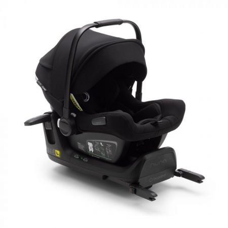 Bugaboo Turtle Air Car Seat + Isofix Wingbase by Nuna - Black