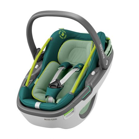Maxi-Cosi Coral Car Seat Neon Green / Group 0+/ 0-13kg