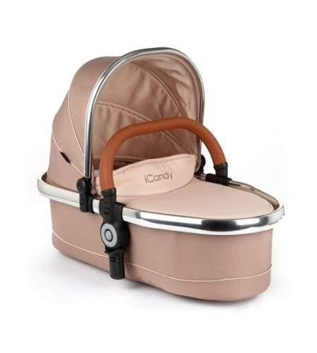 iCandy Peach Twin Carrycot - Butterscotch Ex-Display