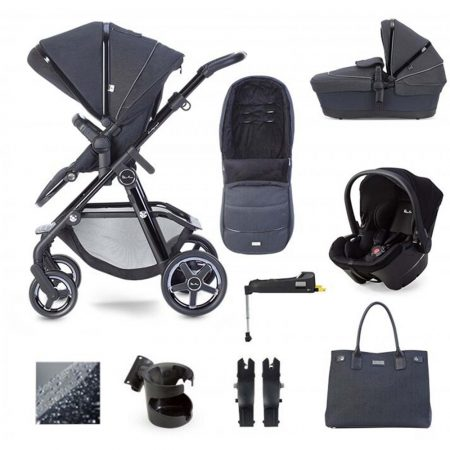 Silver Cross Pacific Autograph Simplicity Plus & Isofix Package - Ink