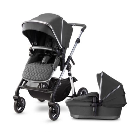 Silver Cross Pioneer 2020 Pushchair & Carrycot - Clay Grey