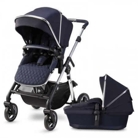 Silver Cross Pioneer 2020 Pushchair & Carrycot - Sapphire Navy