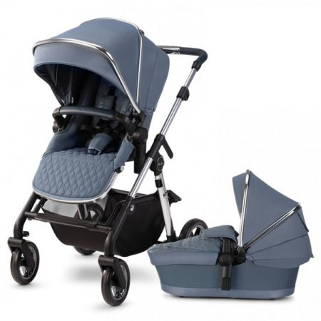 Silver Cross Pioneer 2020 Pushchair & Carrycot - Sky