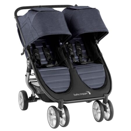 Baby Jogger City Mini 2 Double Twin Carbon Pushchair for 2
