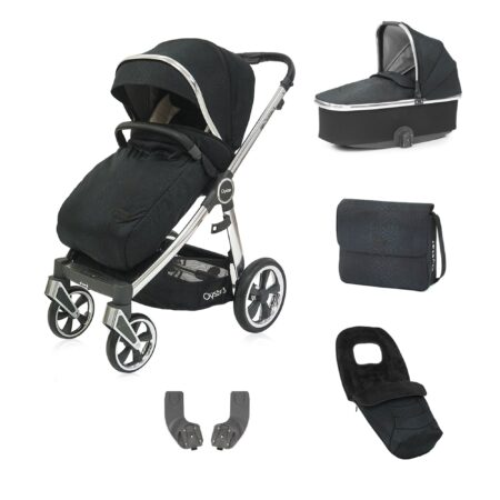 Babystyle Oyster 3 Luxx Limited Edition Black Bundle