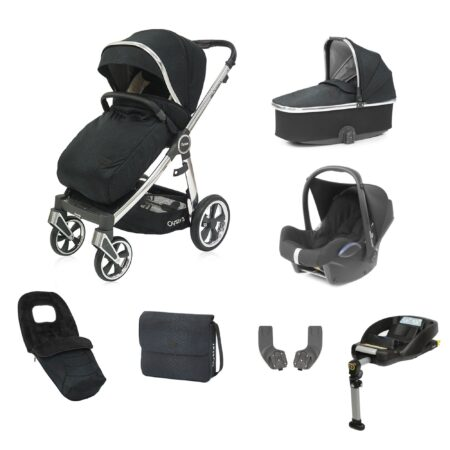Babystyle Oyster 3 Luxx Limited Edition Black Bundle + Maxi Cosi