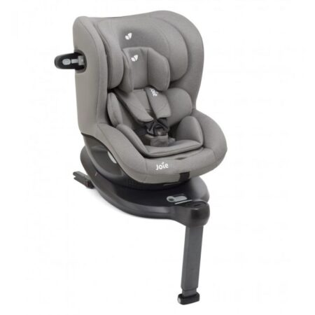 Joie i-Spin 360 Grey Flannel - 360 Rotating Facing Isofix Car Seat