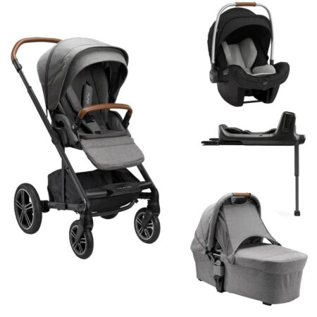 Nuna Mixx Next Granite Bundle with Pipa Next i-size car seat