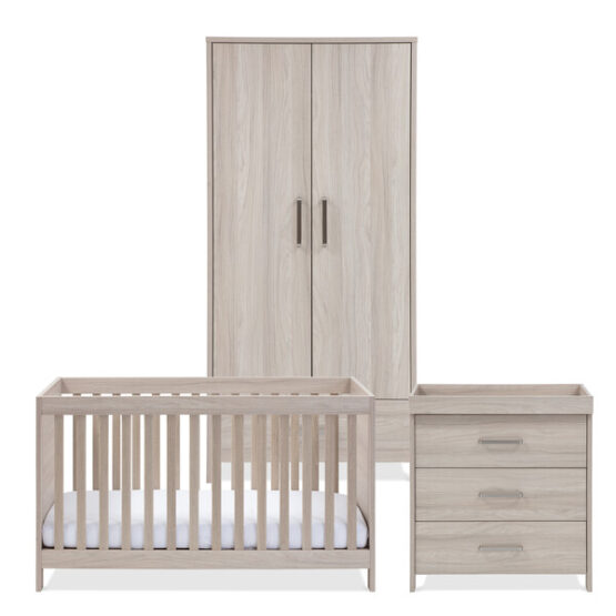 silver cross ascot nursery furniture 3 piece