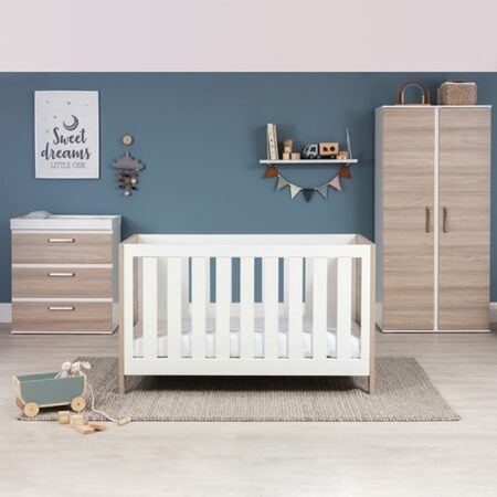Silver Cross Finchley 3 Piece Full Nursery Furniture Set