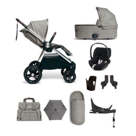 Mamas & Papas Ocarro 9 piece Complete Kit - Woven Grey