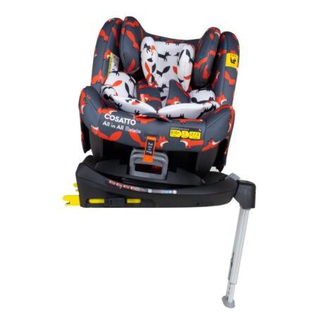 Cosatto All in All Rotate Spin 360 Group 0+/1/2/3 Car Seat Mister Fox