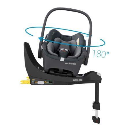 Maxi Cosi Pebble 360 i-Size Car seat & Isofix Base Essential Black