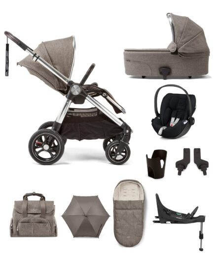Mamas & Papas Ocarro 9 piece i-Size Complete Kit - Walnut