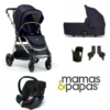 mamas & papas flip xt3 dark navy bundle