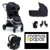 mamas & papas flip xt3 dark navy bundle