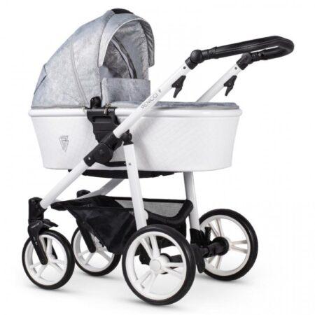 Venicci Pure Cloud 2.0 Pushchair, Carrycot & Car Seat