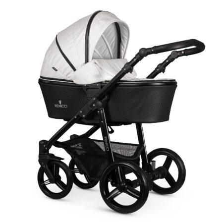 Venicci Shadow Moonlight Glitter Pushchair, Carrycot, Car Seat