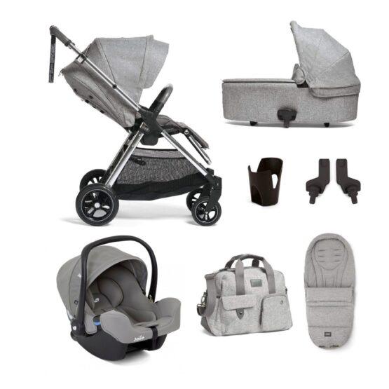 mamas and papas flip xt3 skyline grey travel system bundle