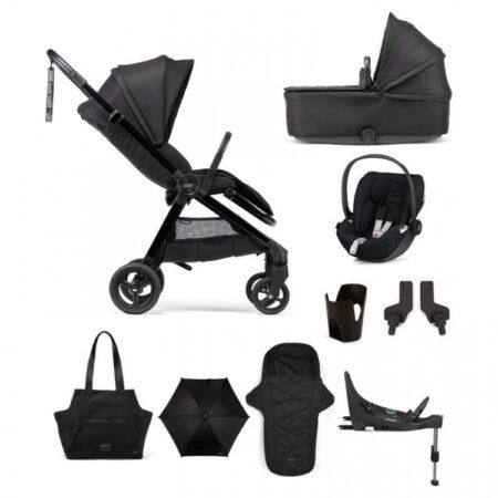 Mamas & Papas Strada Complete Bundle with Cloud Z Car Seat - Carbon
